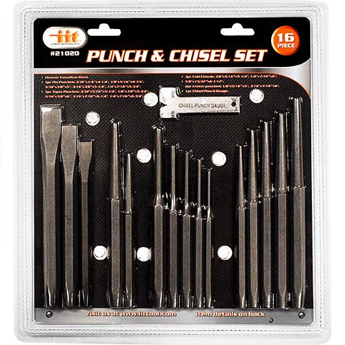 Wholesale 16 PC Punch & Chisel Set