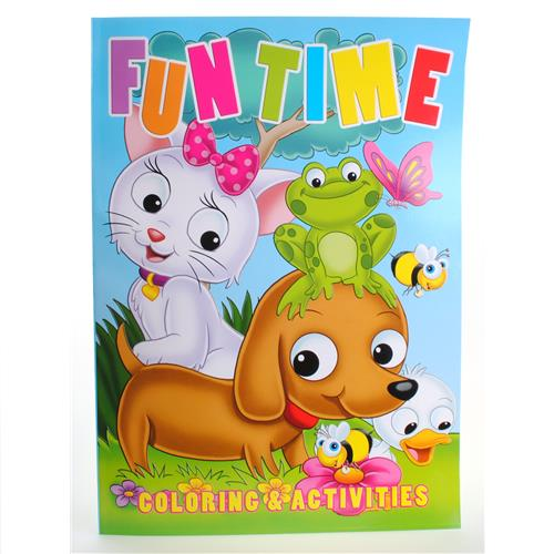 Wholesale Color by Number / Fun Time Coloring & Activity Boo
