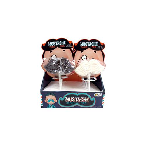 Wholesale Mustache Candy Pops Counter Display