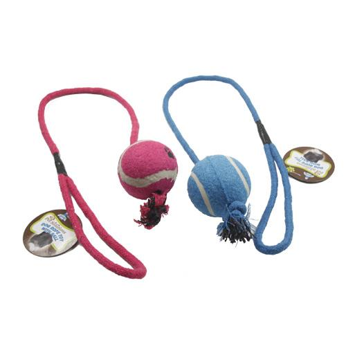 Wholesale DOG ROPE TOY w/ BALL