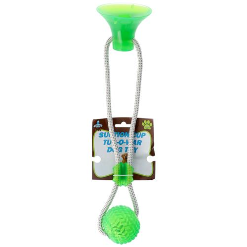 Wholesale SUCTION CUP TUG-O-WAR DOG TOY