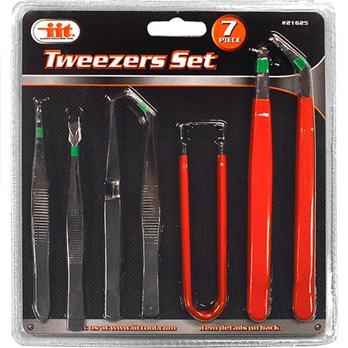 Wholesale 7pc TWEEZER SET