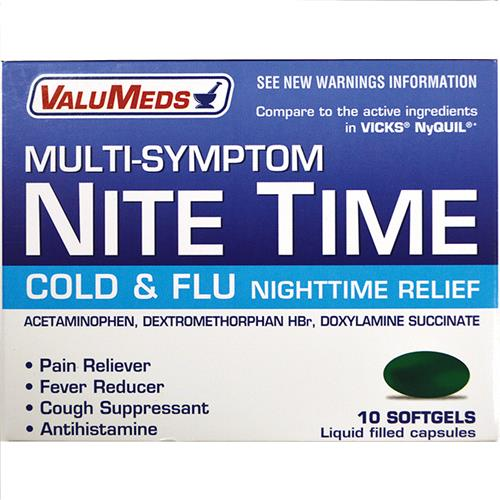 Wholesale VM NIGHT TIME LIQ GELS (NYQUIL