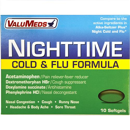 Wholesale VM COLD+FLU NIGHT LIQ GEL (ALK