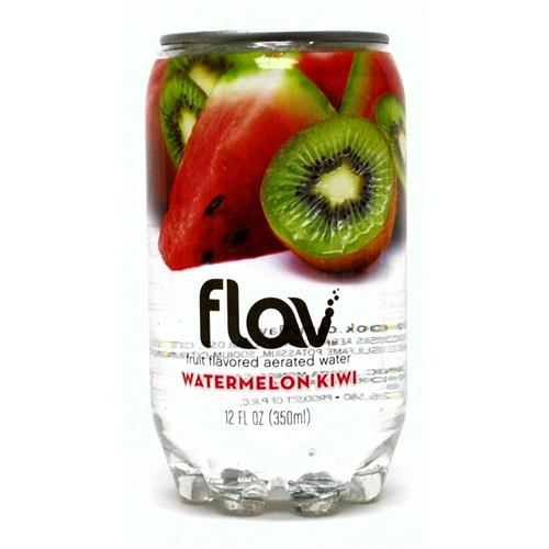 Wholesale Flav Fruity Flavored Aerated Water Watermelon-Kiwi