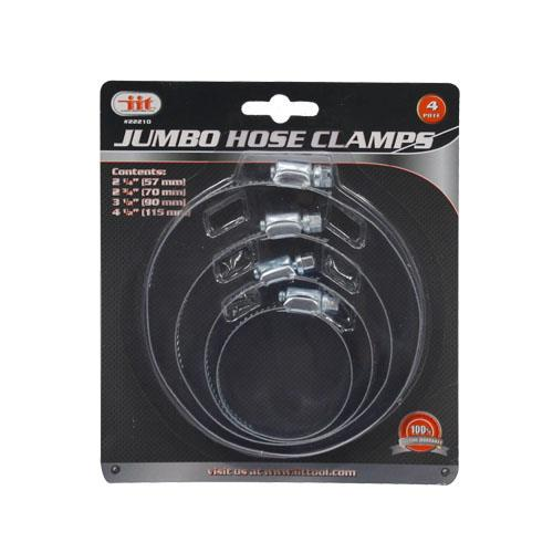 Wholesale 4pc JUMBO HOSE CLAMPS