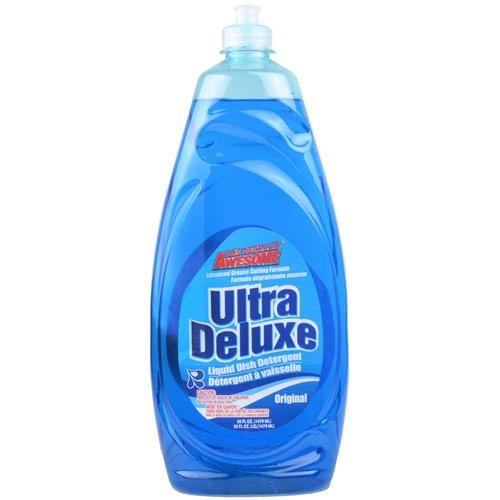 Wholesale Awesome Ultra Concentrated Dish Liquid Oxy Blue 50 oz