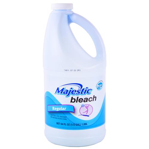 Wholesale Majestic Regular Liquid Bleach 1/2 Gallon