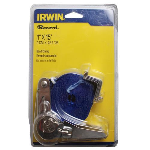 Wholesale IRWIN 1x15' RATCHET BAND CLAMP