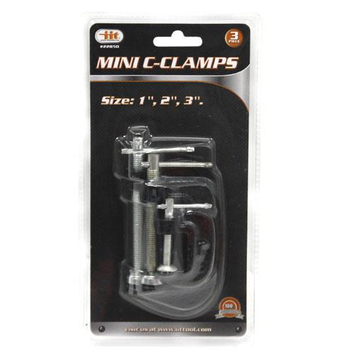 Wholesale 3pc MINI C-CLAMPS