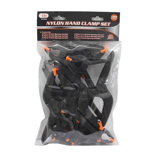 Wholesale 20pc Assortment Spring Clamp Set