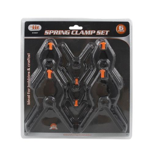 Wholesale 6pc SPRING CLAMP SET