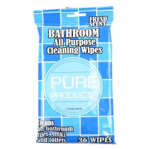 Wholesale Bathroom All Purpose Cleaning Wipes Fresh Scent Ex