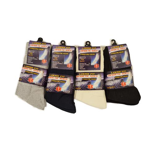 Wholesale DIABETIC SOCKS SIZE 9-11 BLACK