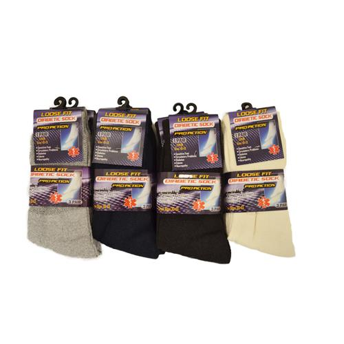 Wholesale DIABETIC SOCKS XL SIZE 10-13 B