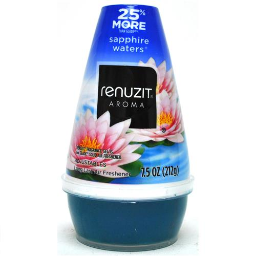 Wholesale Renuzit Air Freshener Adjustable Singles Sapphire Waters
