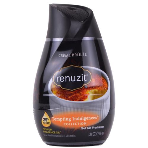 Wholesale Renuzit Air Freshener Black Adjustable Single Creme Brulee