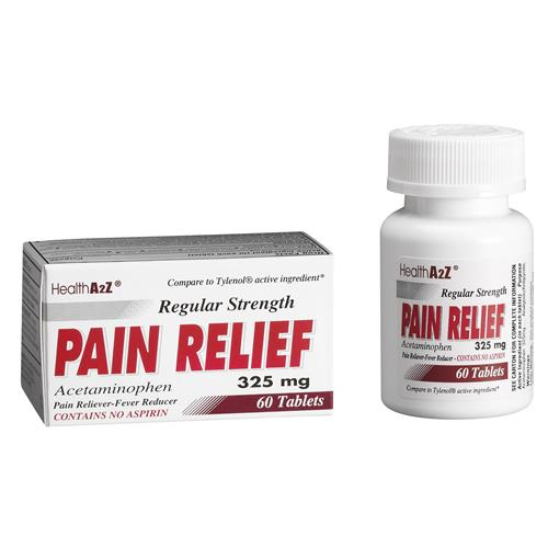 Wholesale Health A2Z Regular Strength Pain Relief Tablet