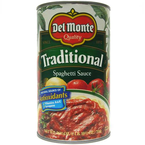 Wholesale Del Monte Pasta Sauce - Traditional