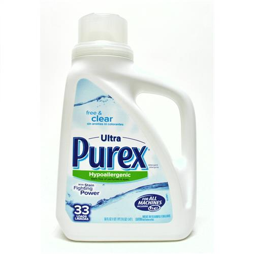 Wholesale Purex HE 2X Liquid Detergent Free & Clear