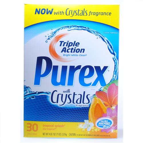Wholesale Purex HE Powder Detergent Tropical Splash 30 Loads