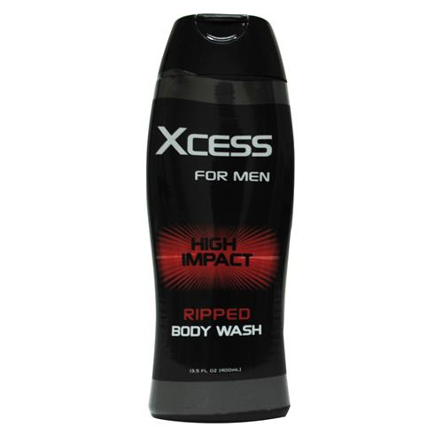 Wholesale Xcess Men's High Impact Ripped Body Wash- Gel - (Axe)
