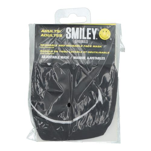 Wholesale 3PLY CLOTH FACE MASK SMILEY FACE ADULT