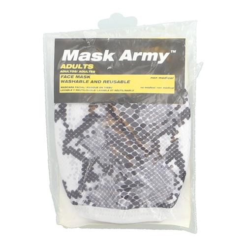 Wholesale 3PLY CLOTH FACE MASK SNAKE PRINT ADULT