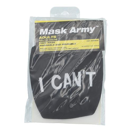 Wholesale 3PLY CLOTH FACE MASK I CAN'T ADULT