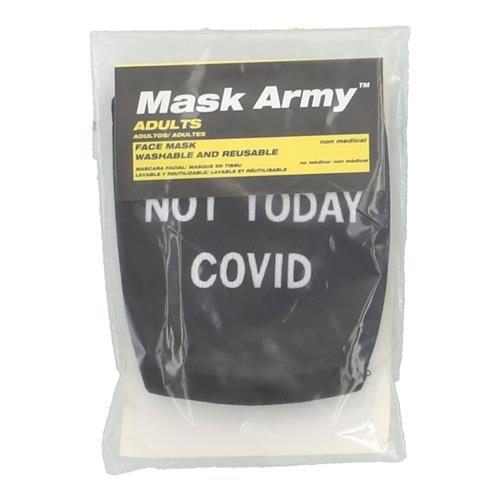 Wholesale 3PLY CLOTH FACE MASK NOT TODAY COVID ADULT