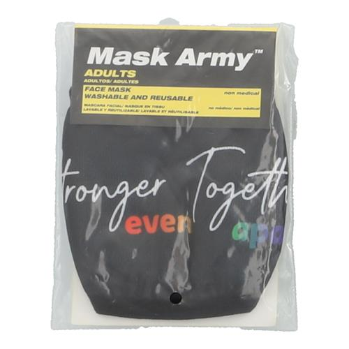 Wholesale 3PLY CLOTH FACE MASK STRONGER TOGETHER EVEN APART ADULT