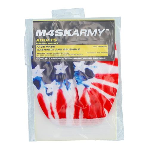 Wholesale 3PLY CLOTH FACE MASK TIE DYE FLAG ADULT ADJUSTABLE SIZE