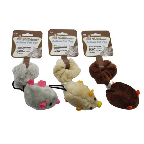 Wholesale VIBRATING ACTION MOUSE CAT TOY