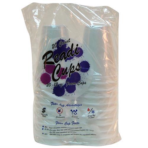 Wholesale Readi Foam Cups - 12 oz