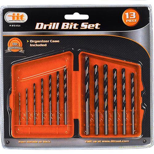 Wholesale 13PC Drill Bit Set