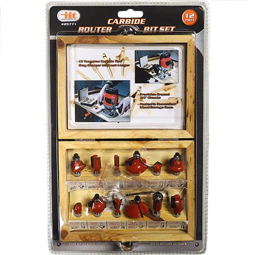 Wholesale 12PC Carbide Router Bit Set