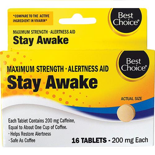 Wholesale BEST CHOICE STAY AWAKE TABS 16CT (VIVARIN)