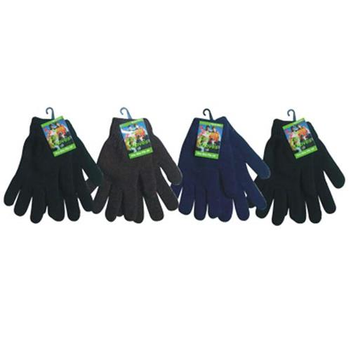 Wholesale Winter Knit Gloves Assorted Solid Colors