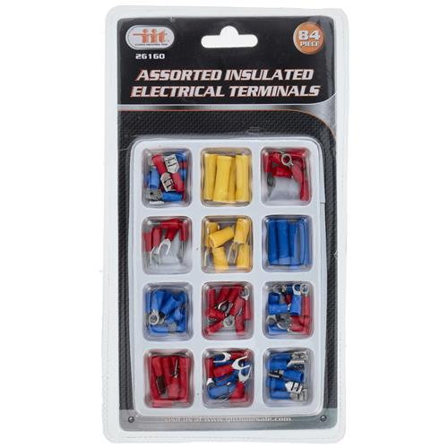 Wholesale 84PC Insulated Electrical Terminals