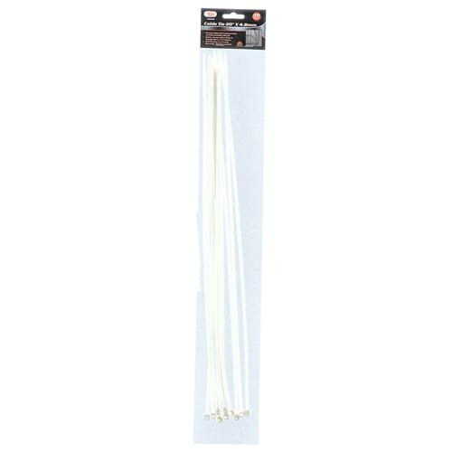 """Wholesale 10PC Cable Tie 20"""" X 4.8MM"""
