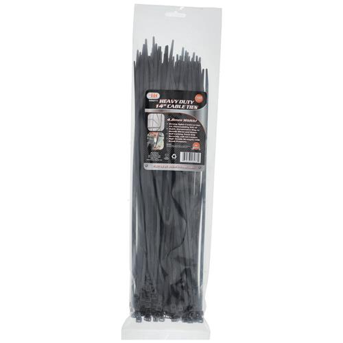 "Wholesale 100PC Heavy Duty 14"""" Cable Ties"
