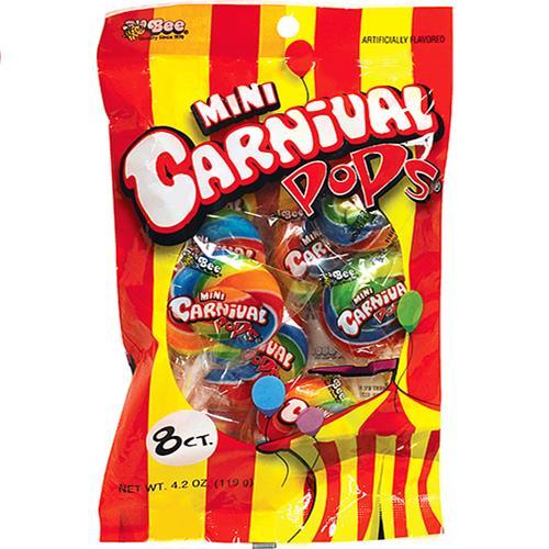 Wholesale Mini Carnival Pops Peg Bag