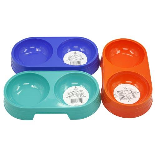 Wholesale DOUBLE BOWL PET DISH