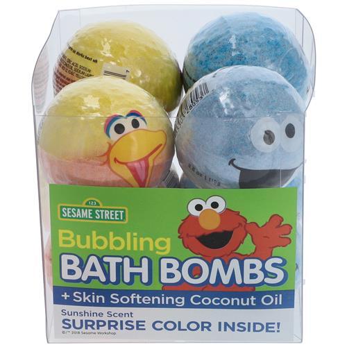 Wholesale SESAME STREET CHARACTER BATH BOMB