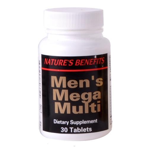 Wholesale Nature's Benefit Men's Mega Multi Tablet