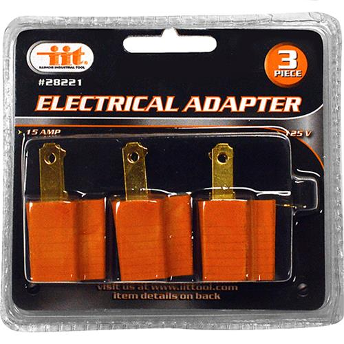 Wholesale 3PC Electrical Adapter