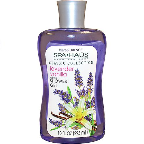 Wholesale 10oz Spa Haus Shower Gel Lavender Vanilla