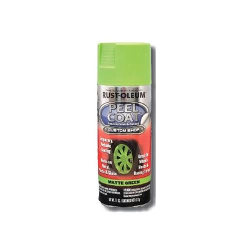 Wholesale SPRAY PAINT MATTE GREEN PEEL COAT 10oz