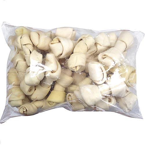 Wholesale 4 to 6 inch RAWHIDE BONE