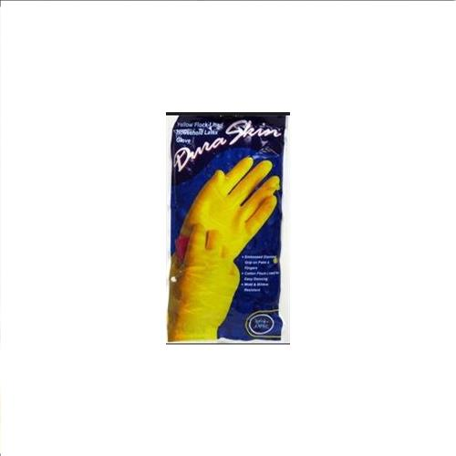 Wholesale Duraskin Yellow Latex Glove Medium (Playtex)